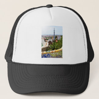 Park Guell in Barcelona, Spain Trucker Hat