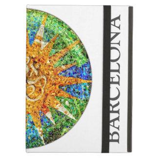 Park Guell mosaics iPad Air Cover