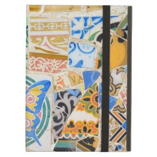 Park Guell mosaics iPad Air Covers