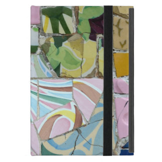 Park Guell mosaics iPad Mini Covers