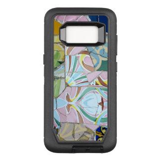 Park Guell mosaics OtterBox Defender Samsung Galaxy S8 Case
