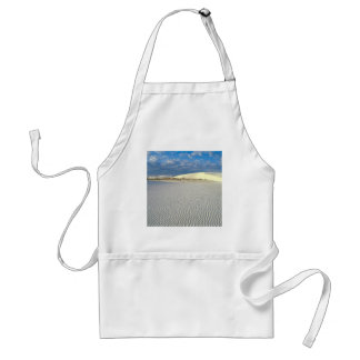Park Gypsum Sand Dunes White Sands Monum Apron