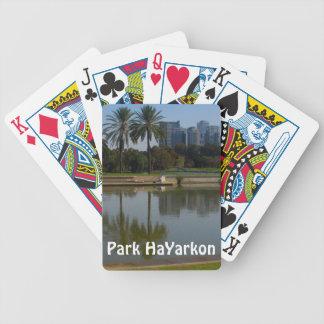 Park HaYarkon, Israel Bicycle Playing Cards