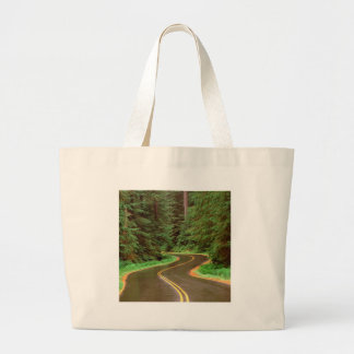 Park Lush Winding Road Olympic Tote Bag