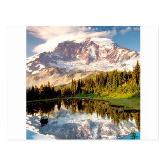 Park Mystic Tarn Rainier Postcard