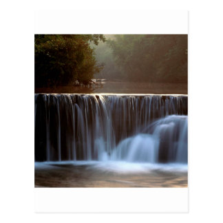 Park Natural Dam Ozark Forest Arkansas Postcard