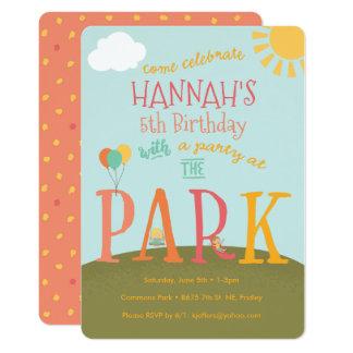 Park Party Card