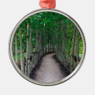 Park Path Metal Ornament