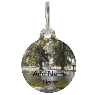 Park Pet Name Tag