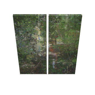 Park Place Abstract Canvas Print