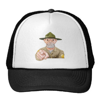 Park Ranger Pointing Cap