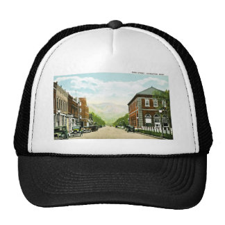 Park Street Livingston Montana Trucker Hats