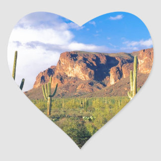 Park Superstition Ains Tonto Forest Heart Sticker