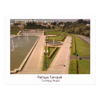 Park Tanguá - Curitiba, Brazil Postcard