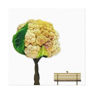 Park tree canvas print