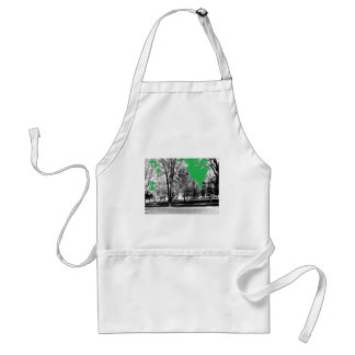 Park with Trees Standard Apron
