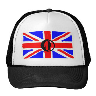Parka Power Plus painted union jack. Cap