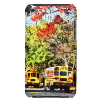 Parked School Buses iPod Touch Case-Mate Case