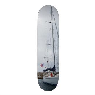 Parked Skate Board Deck