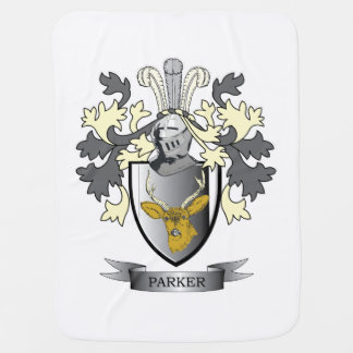 Parker Coat of Arms Baby Blanket