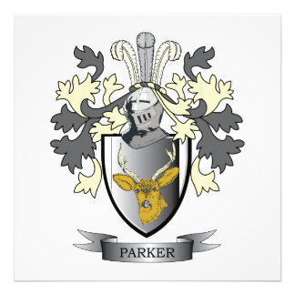 Parker Coat of Arms Photograph