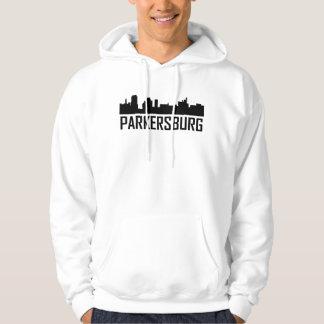 Parkersburg West Virginia City Skyline Hoodie
