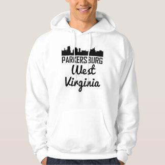 Parkersburg West Virginia Skyline Hoodie