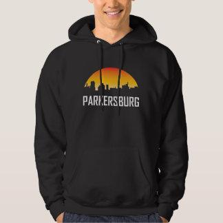 Parkersburg West Virginia Sunset Skyline Hoodie