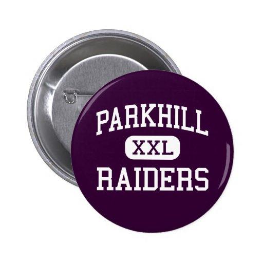 Parkhill - Raiders - Junior - Dallas Texas Pinback Buttons