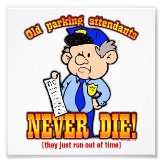 Parking Attendants Photo Print