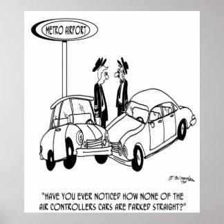 Parking Cartoon 5133 Poster