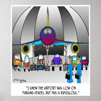 Parking Cartoon 8500 Poster