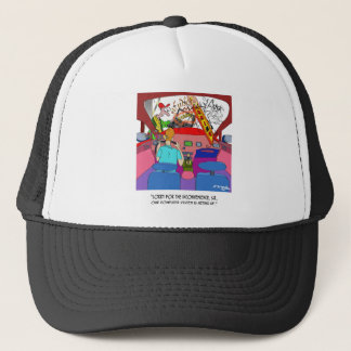 Parking Cartoon 8849 Trucker Hat