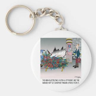 Parking Cartoon 8973 Key Ring