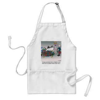 Parking Cartoon 8973 Standard Apron