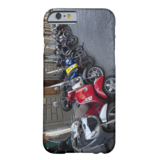 Parking is extremelly hard to find Scooters are iPhone 6 Case