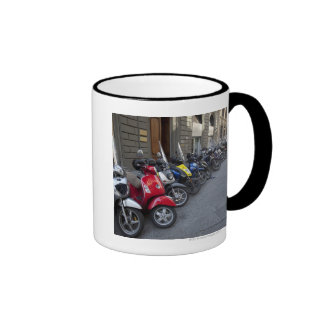 Parking is extremelly hard to find, Scooters are Coffee Mugs
