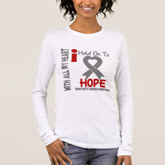 Parkinsons Disease I Hold On To Hope Long Sleeve T-Shirt