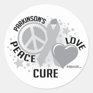 Parkinson's Disease PLC Round Sticker