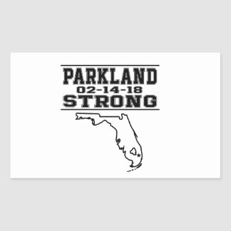 Parkland Strong School Shooting Stickers