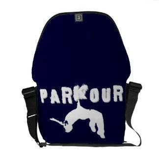 Parkour Athlete messenger bag