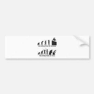 Parkour Bumper Sticker