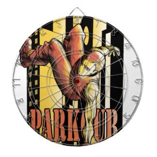 parkour dartboard