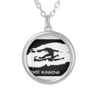 PARKOUR FREE RUNNING SILVER PLATED NECKLACE