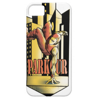 parkour iPhone 5 cover