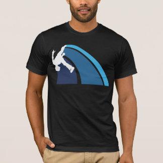 Parkour lines blue T-Shirt