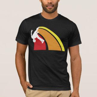 parkour lines warm colours T-Shirt