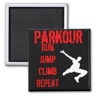 Parkour Magnet