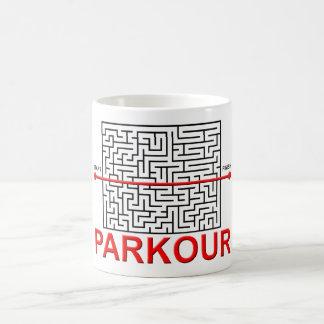 Parkour Maze Funny Mug