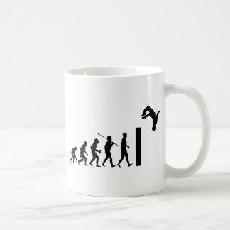 Parkour Basic White Mug